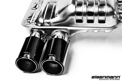 Eisenmann F8x M3/M4 Exhaust with Gloss black tips