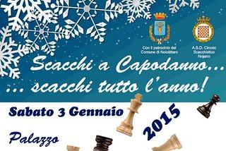 Noicattaro. Scacchi a Capodanno 2015 front