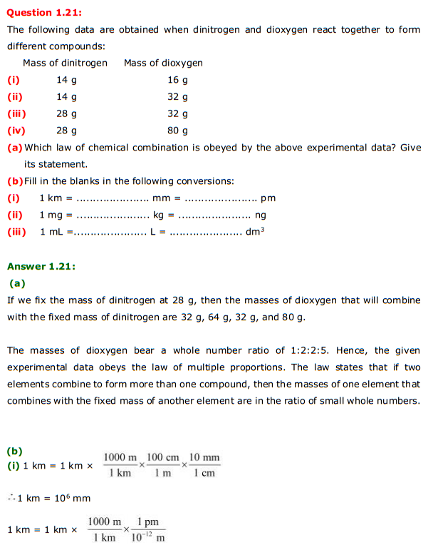 chapter 1 some basic concepts of Ncert solutions for class 11 chemistry chapter 1 some basic concepts chemistry is one of the key chapters and consists of important topics that are often asked in class 11 chemistry examination.