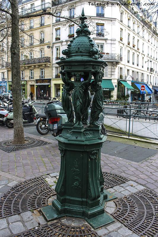 PARIS - Place Bernard Halpern