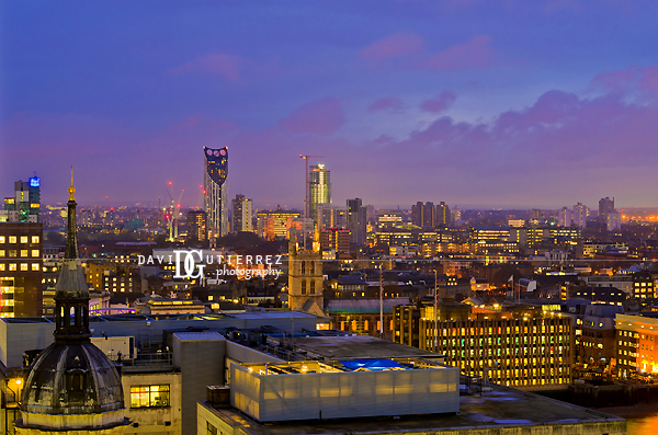 South London Skyline  - David Gutierrez Photography, London Photographer