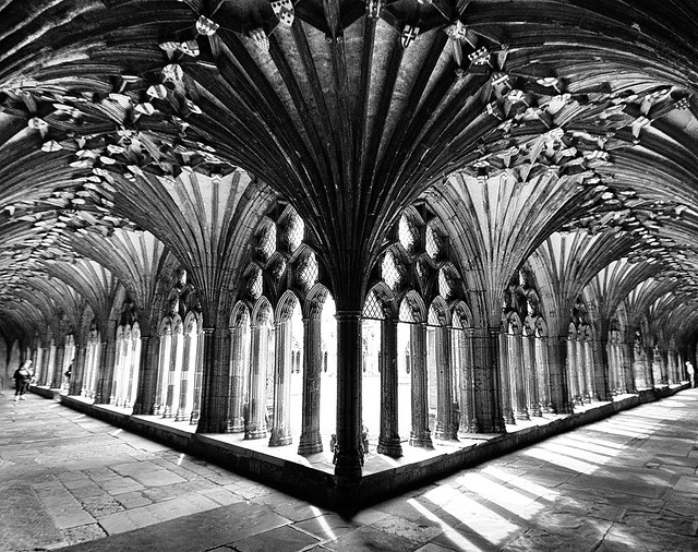 Canterbury Cathedral Cloisters