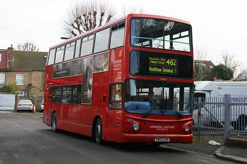 London United TLA8 on Route 482, Southall
