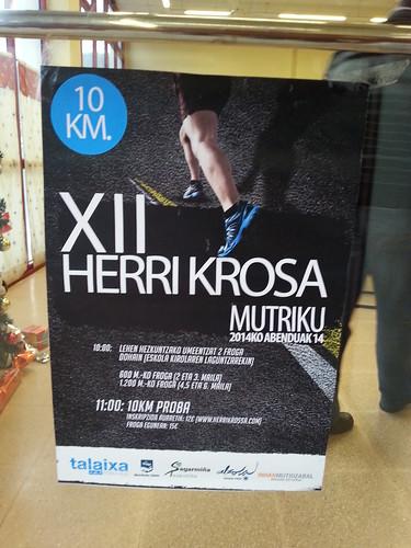 XII  Herri Krosa de Mutriku. 14 Diciembre 2014