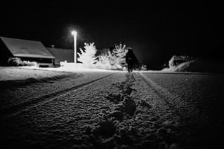 Walking home at midnight