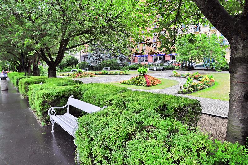 Dvorak Park, Karlovy Vary, Czech