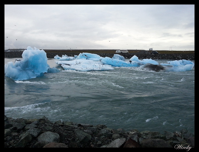 Islandia Vík Eldhraun Skaftafellsjökull Svartifoss Jökulsárlon - Lago glaciar Jökulsárlon