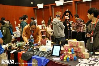 香港10 年來最強玩具展【TOY SOUL 2014】最強獨立製作人 - 原作版圖