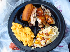 Boston Market 3 Piece Chicken Dark Meat Meal