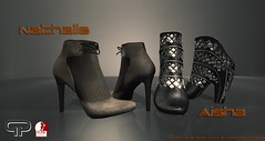 Pure Poison - Aisha and Nathalie Ankle Boots for Slink Medium