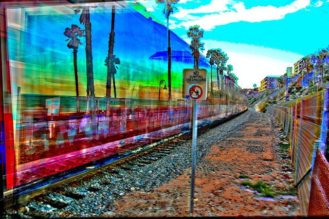 Rainbow Train HDR