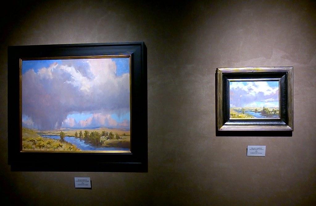 Melanie Thompson's paintings