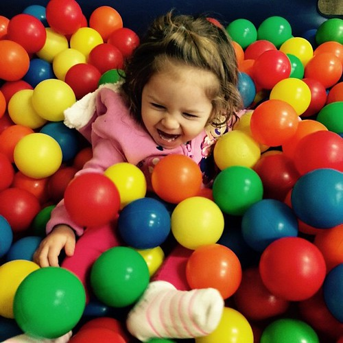 Ball Pit Fun by Staci Baird