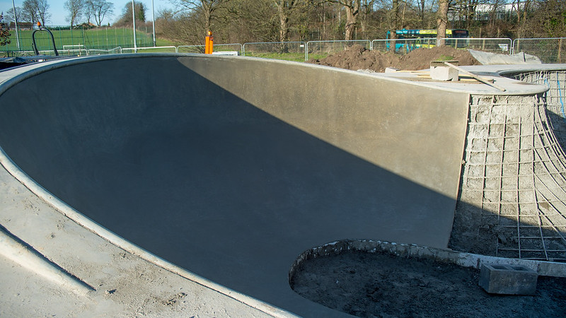 Dunstable Skatepark Build 2015 Week-2