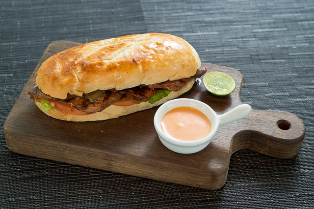 Glasshouse Hong Kong - Korean beef style steak sandwich b