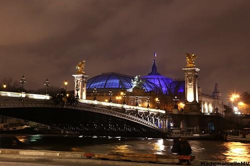 Grand Palais et Seine