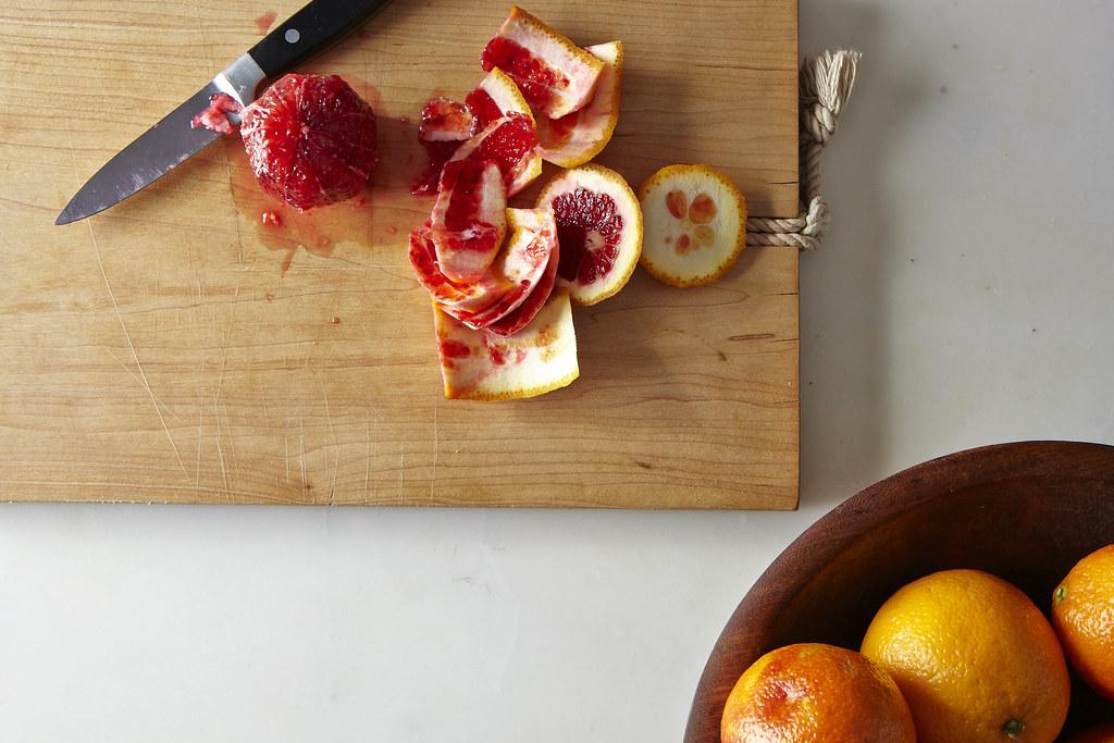how to cut an orange into segments