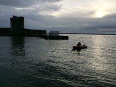 Broughty Ferry Castle and the Safety Rib