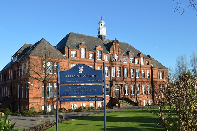 Header of Alleyn's School