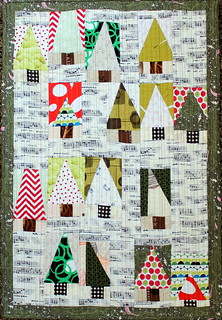 Oh Tiny Christmas Tree Quilt
