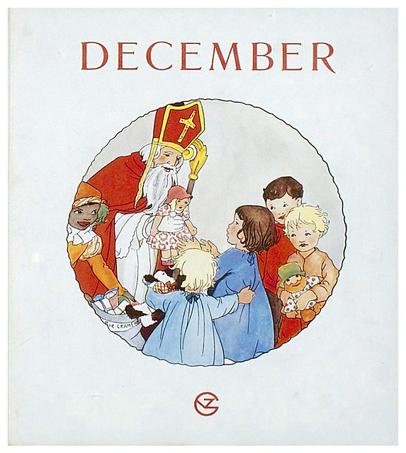 018-Mes de Diciembre dibujos y poemas de Rie Cramer