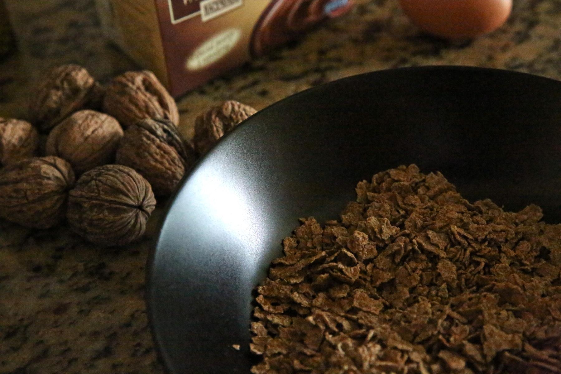 Receta de barritas de allbran y chips de chocolate caseras