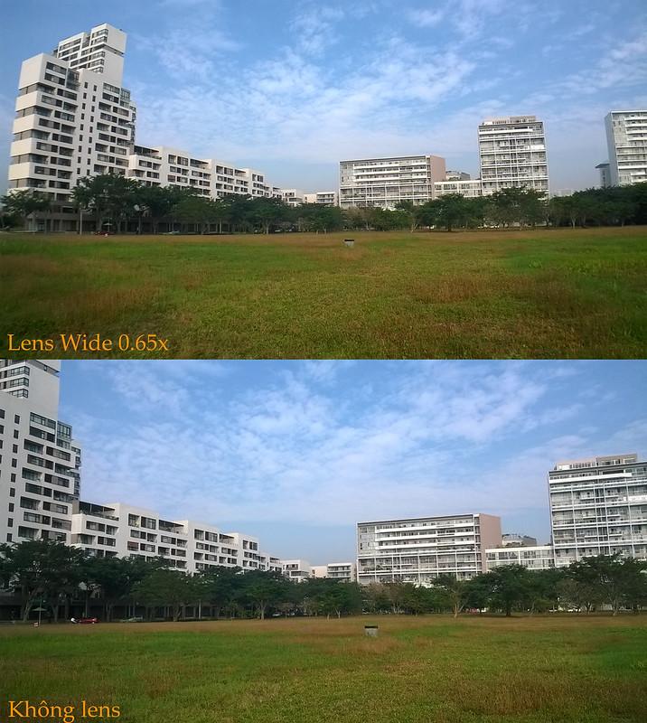 ảnh chụp của ống kính đa năng 3 trong 1 LIEQI LQ-011 - Metrophone.vn
