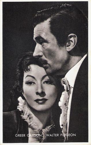 Greer Garson, Walter Pidgeon