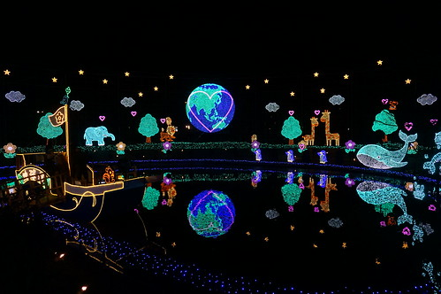 Flower Fantasy 2015 illumination at Ashikaga Flower Park 19