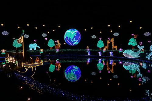 Flower Fantasy 2015 illumination at Ashikaga Flower Park 19