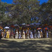 Ethiopian Orthodox Priests Celebrating The Colorful Timkat Epiphany Festival, Lalibela, Ethiopia by Eric Lafforgue