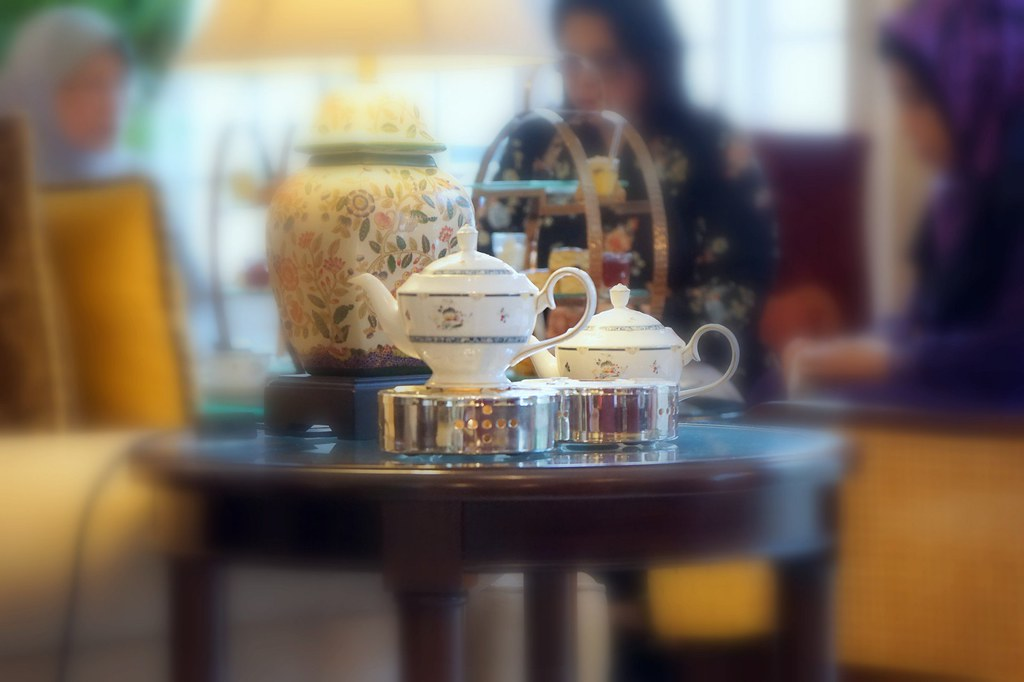 afternoon tea at Majestic Hotel KL