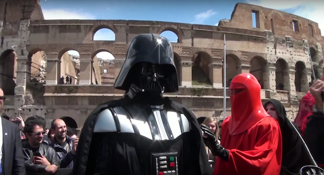 Galactic Empire at the Colosseum in Rome, 2014