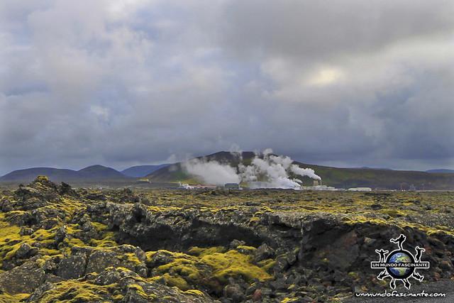 ISLANDIA - Blue Lagoon, Bláa lónið