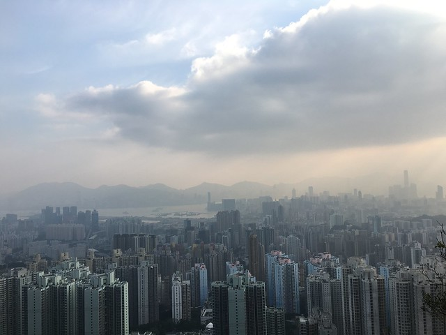 Picture 1_View from Lion Rock in Kowloon District in Hong Kong