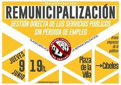 Remunicipalización_Cartel