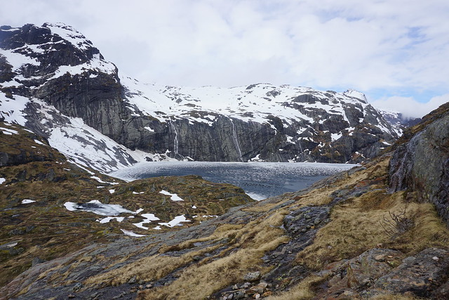 Fjerddalsvatnet from the southern tip