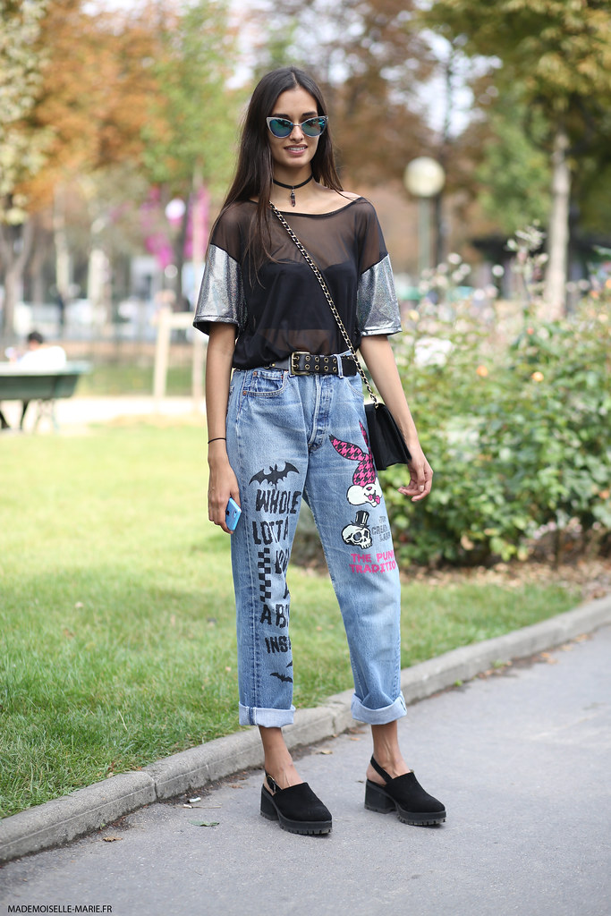 Gizele Oliveira at Paris fashion week