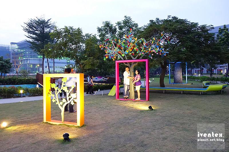 23刀口力台南善化南科幾米裝置藝術小公園