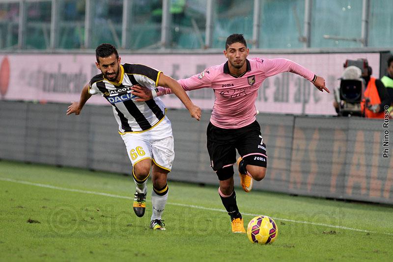 Palermo, colpo esterno a Udine per i rosa$