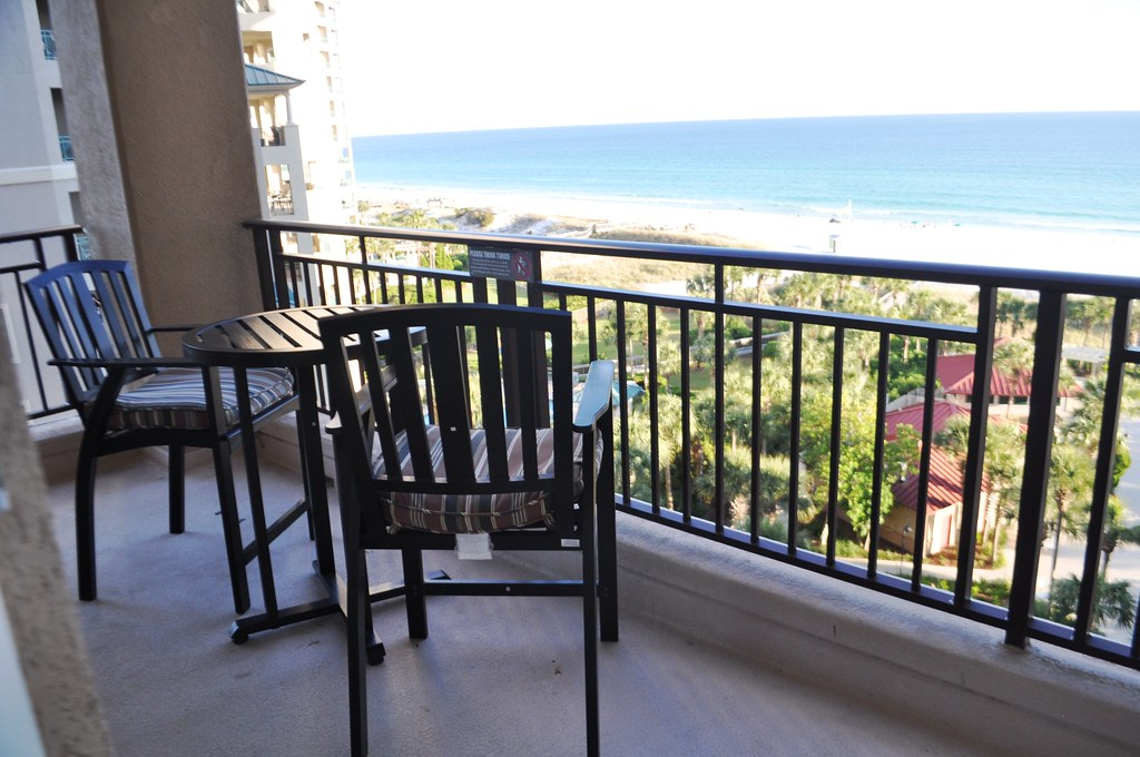 View from My Condo at Westwinds, Sandestin Golf and Beach Resort, Fla., Oct. 24, 2014