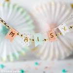 washi tape Bunting tags