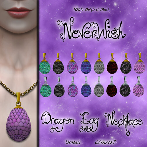 *NW* Dragon Egg Necklace