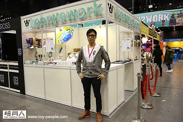 TOY SOUL 2014【Kennyswork Co Ltd】D10 攤位完整報導