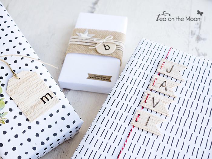 Navidad, ideas para envolver regalos