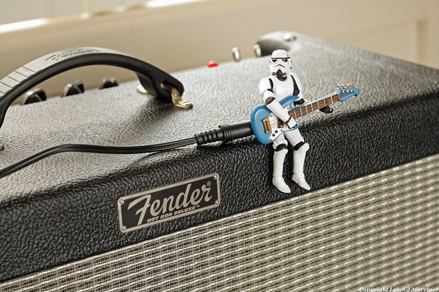 Photo:Stormtrooper playing guitar By Leigh/J/M