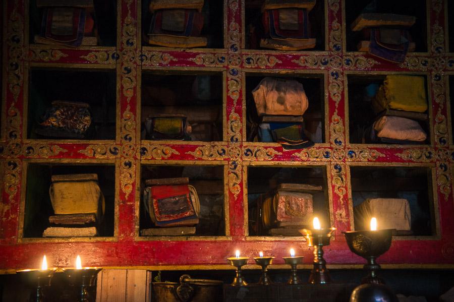 Библиотека монастыря Карча. © Kartzon Dream - авторские путешествия, авторские туры в Индию, тревел фото, тревел видео, фототуры