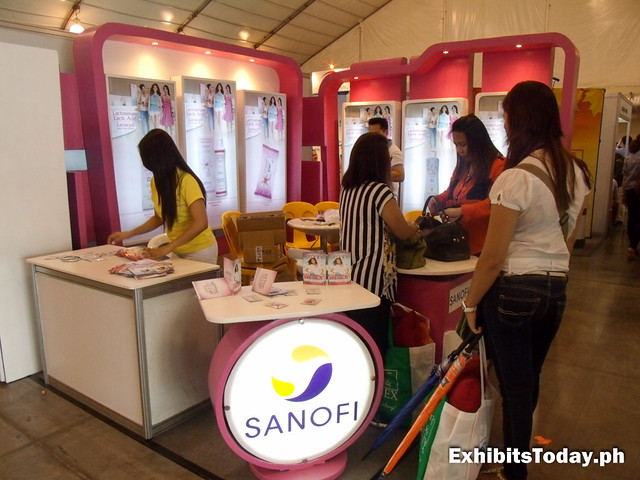 Sanofi Exhibit Stand