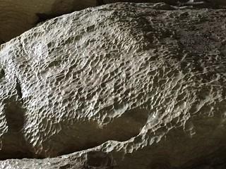 Sculpted rock in Moria Arch