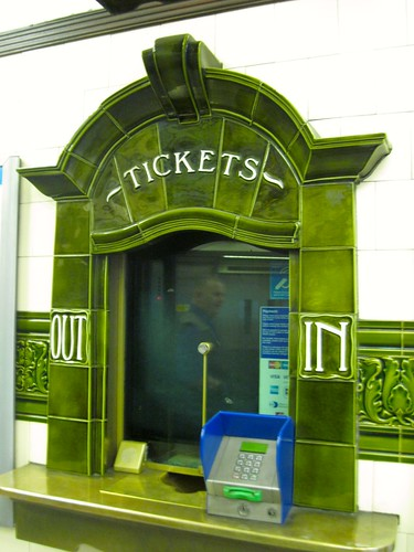 Ticket Counter at Hampstead Station
